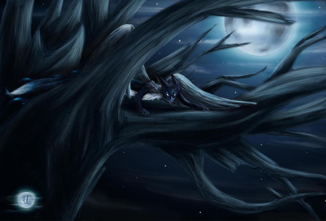 Raven by Theselia
