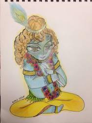 Krishna by dollu