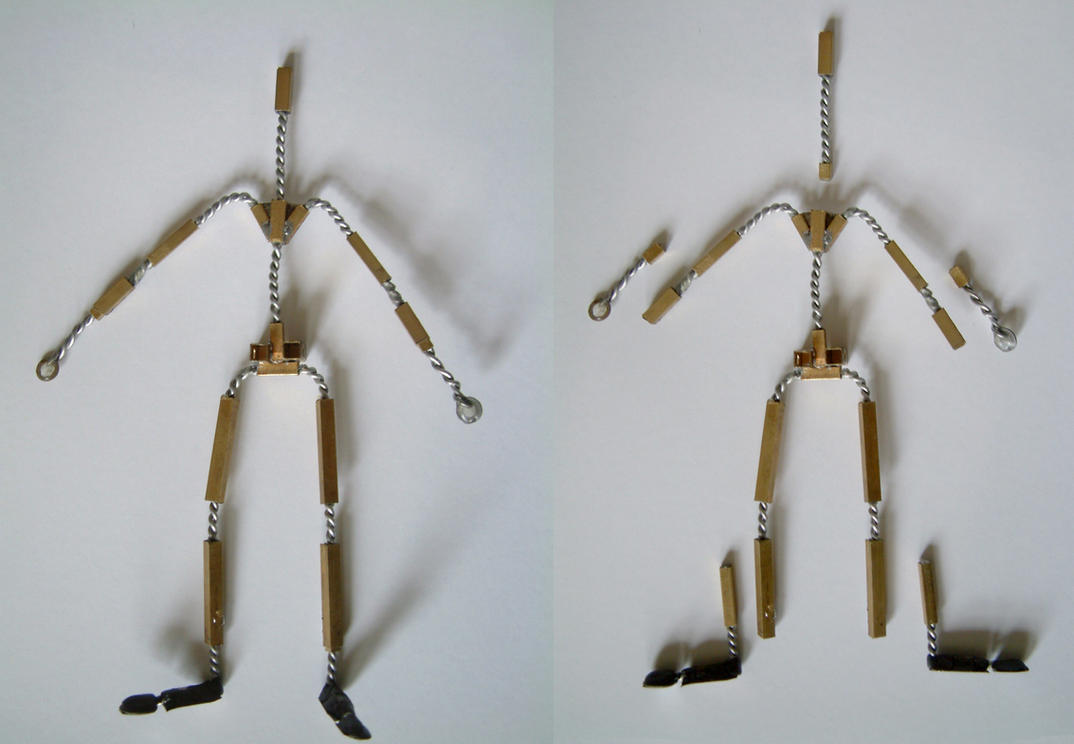 Stop motion puppet armature by shalonpalmer