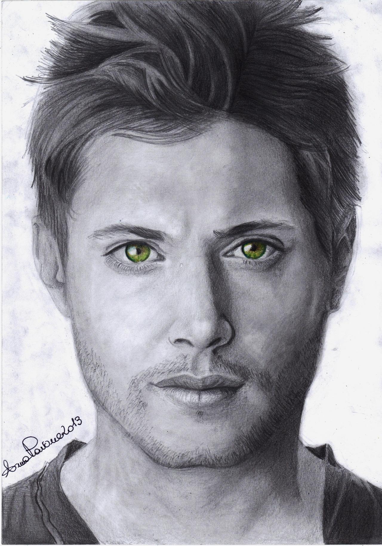 Jensen Ross Ackles Portrait by AoiSayzuki