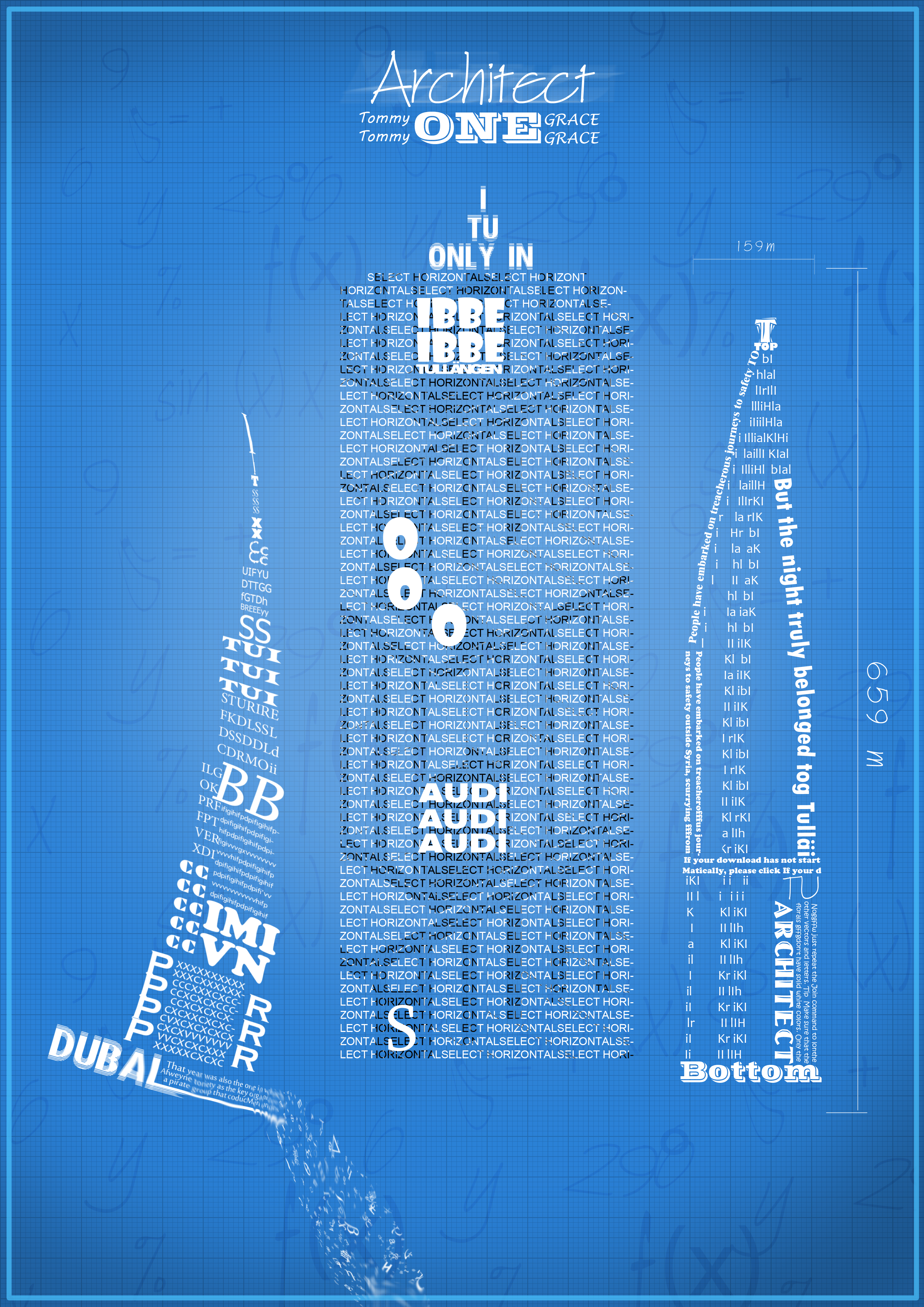Where to buy blueprint paper home design blueprint typography by ibrahemaliraqi on deviantart malvernweather Images