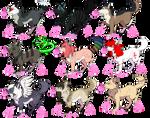 Bubblegum Pups Batch One