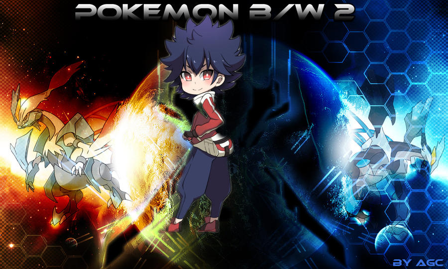 Pokemon black and white 2 wallpaper by agc by wizekid123 - Pokemon black 2 wallpaper ...