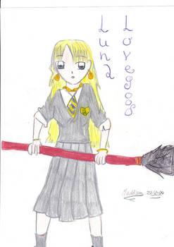 Luna Lovegood Anime way