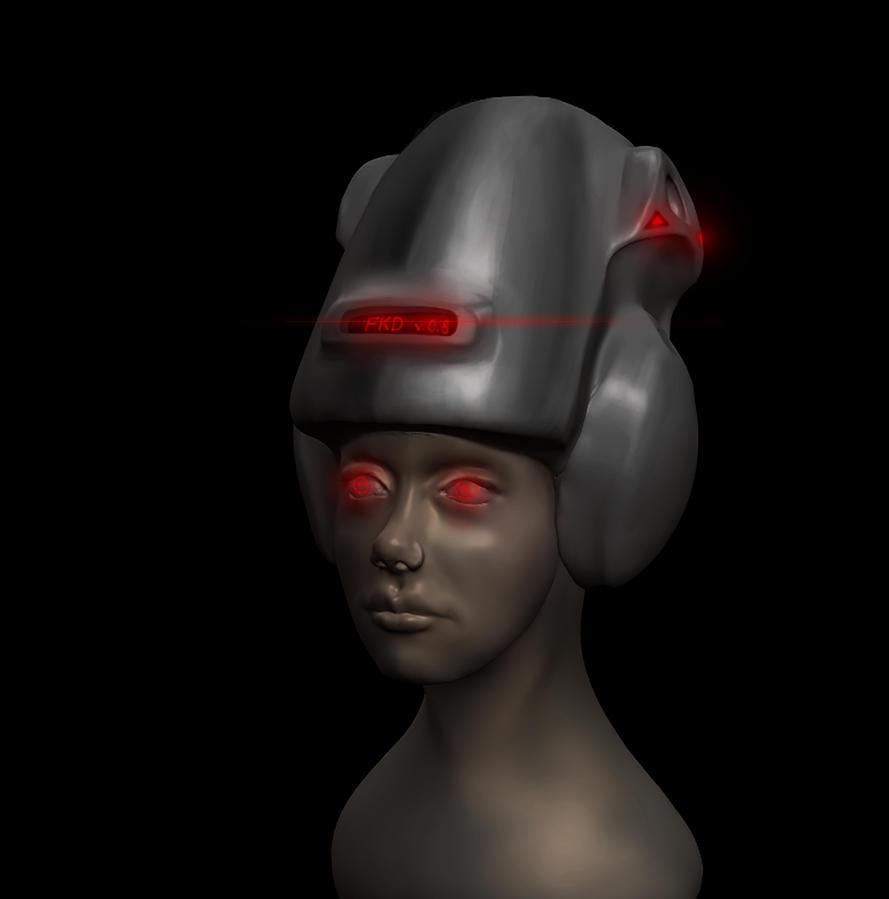sf helmet concept by FKinga