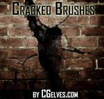 Free Photoshop CS6 Crack Effect Brushes Set