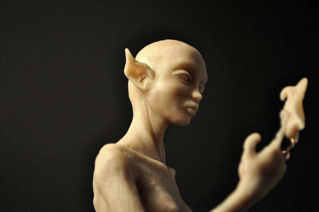 Wood Elf - in progress by MartaSowa