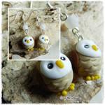 Owl earrings Tutorial YT
