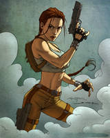 Lara Croft, Tomb Raider by Smoozles