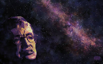 Stephen Hawking - Master of the Universe by Smoozles