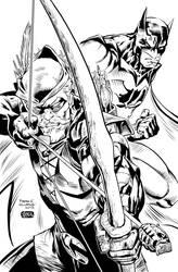 Green Arrow and Batman
