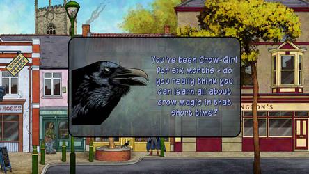 Crow-Girl game, new screenshot