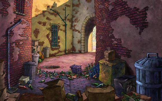 Alley from Broken Sword 1