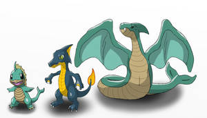 Pokemon Adaptations - Fire to Water
