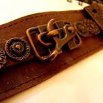 Copper Gears Bondage Arm Cuff