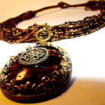 Tribal Dancer Pendant Necklace