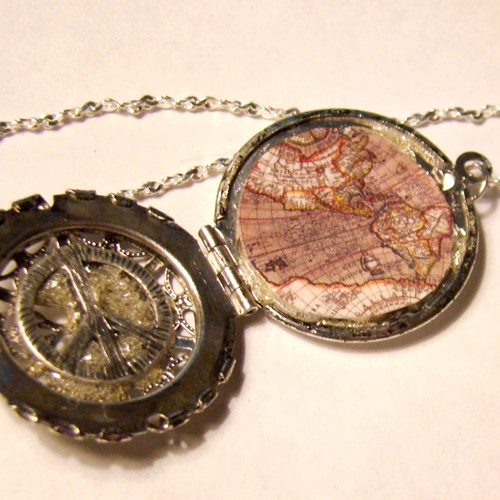 World peace antique map locket by steamsociety on deviantart world peace antique map locket by steamsociety aloadofball Image collections