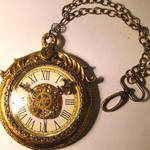 Mad Hatter Bling Pocketwatch