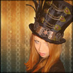 Manical Mad Hatter Top Hat