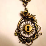 Steampunk Sunshine Necklace