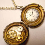 Itty Bitty Pocketwatch Locket