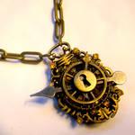 Sunshine Steampunk Necklace V2