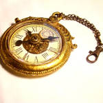 Giant Mad Hatter Bling Clock