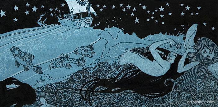 Illustration 'Sadko' by Artbashev
