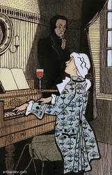 Illustration 'Mozart...