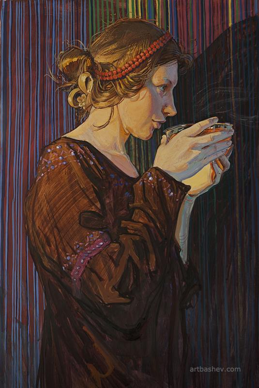 Hot Tea by Artbashev