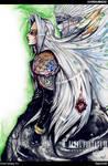 FF7 Sephiroth, Jenova by soanvalentine