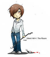 Silent Hill 4: Henry by soanvalentine