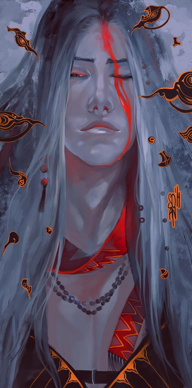 Sephiroth sketch by soanvalentine