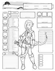 Elf Ranger by Farstride
