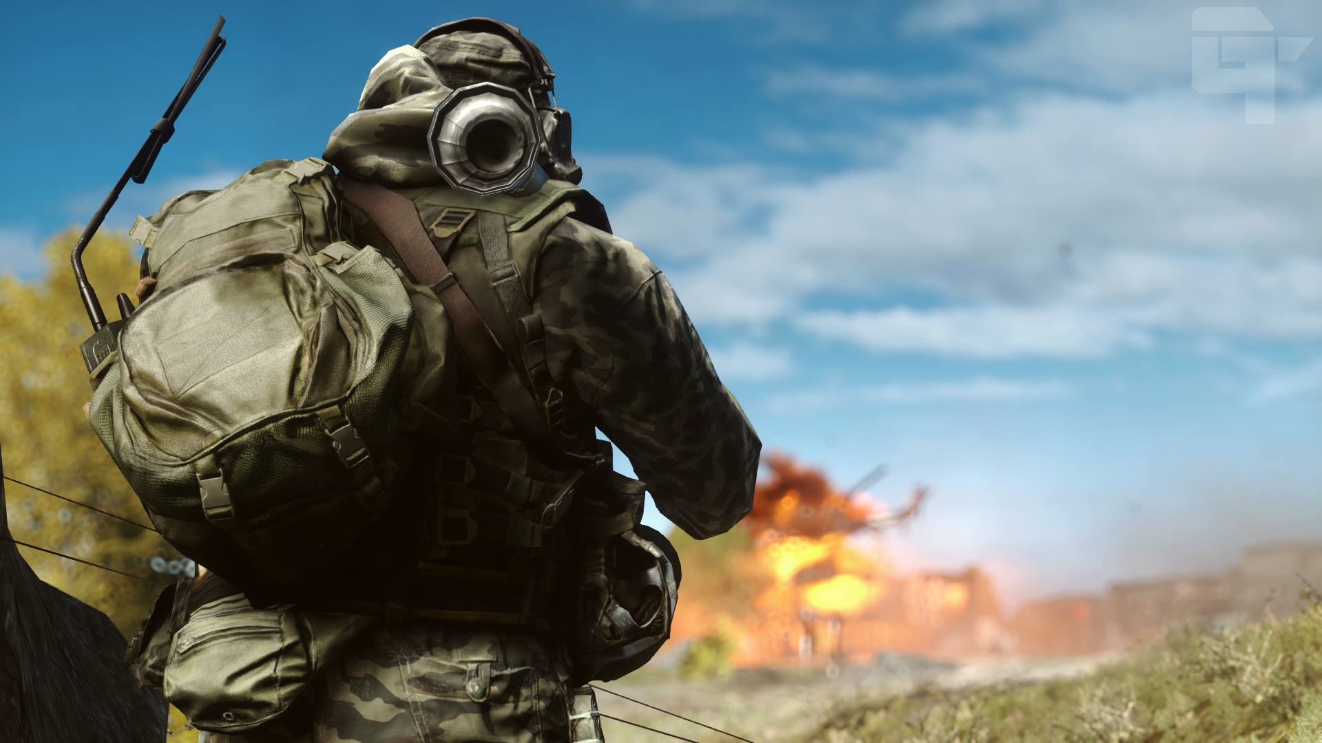 Battlefield 4 Elicottero : Battlefield helicopter shot by gtcinematic on deviantart