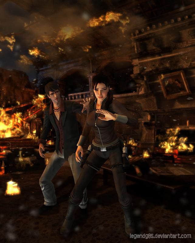 Tomb Rider Wallpaper: Lara Croft 09 By Legendg85 On DeviantArt