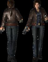Lara Croft Silent Hill by legendg85