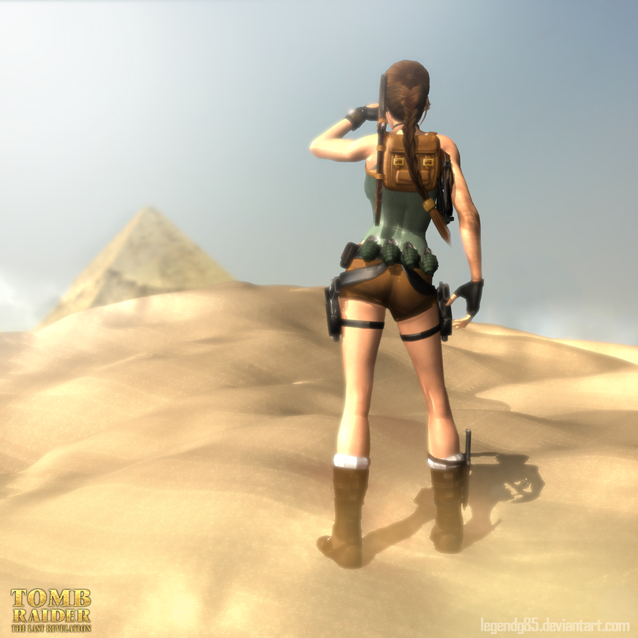 Tomb Rider Wallpaper: Composition Of An Authentic