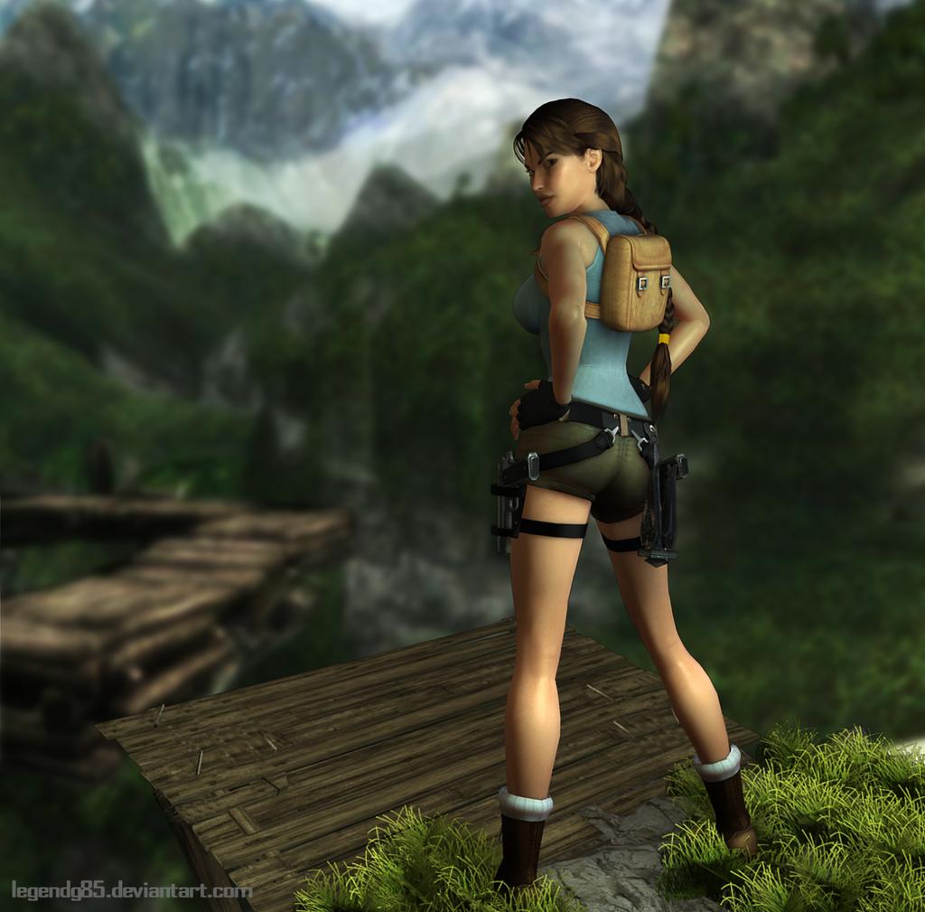 Tomb Rider Wallpaper: Lara Croft 101 By Legendg85 On DeviantArt