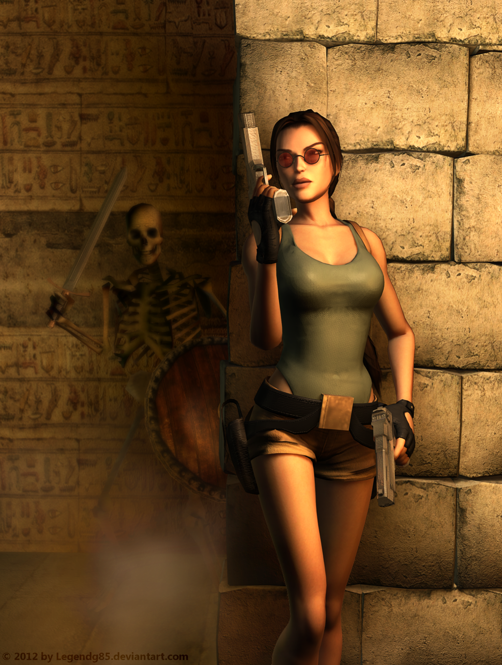 Lara Croft 120 by legendg85