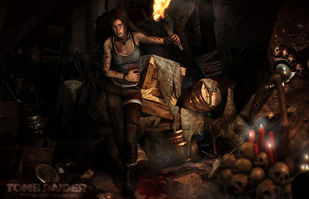 Lara Croft 121 by legendg85