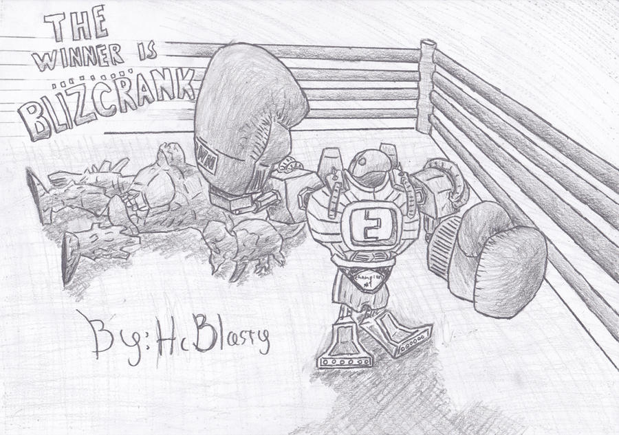 Boom Boom Blitzcrank In The Ring by HcBlasty on DeviantArt