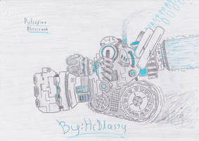 Pulsefire Blitzcrank by HcBlasty