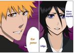 Ichigo y Rukia
