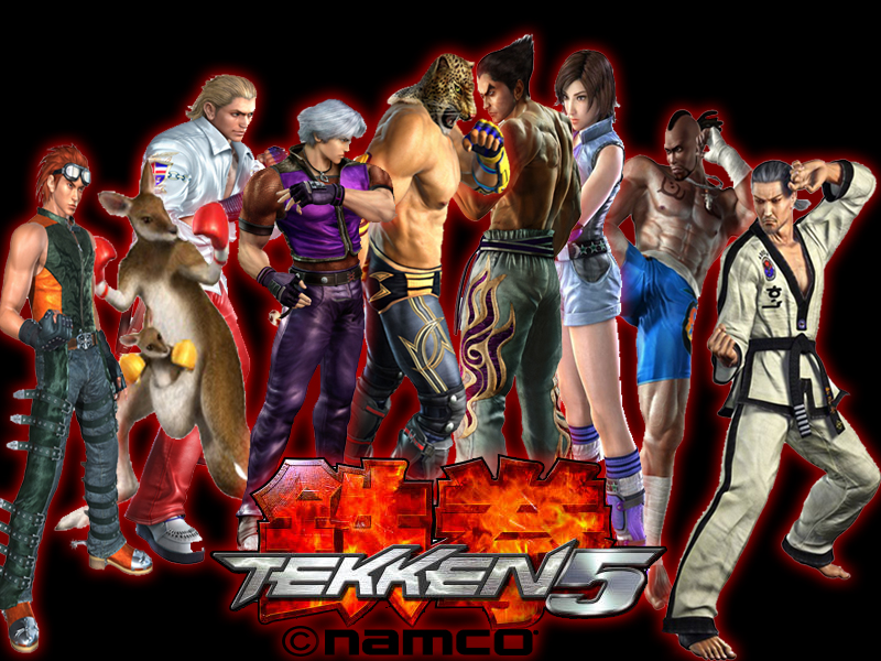 Tekken 1 characters