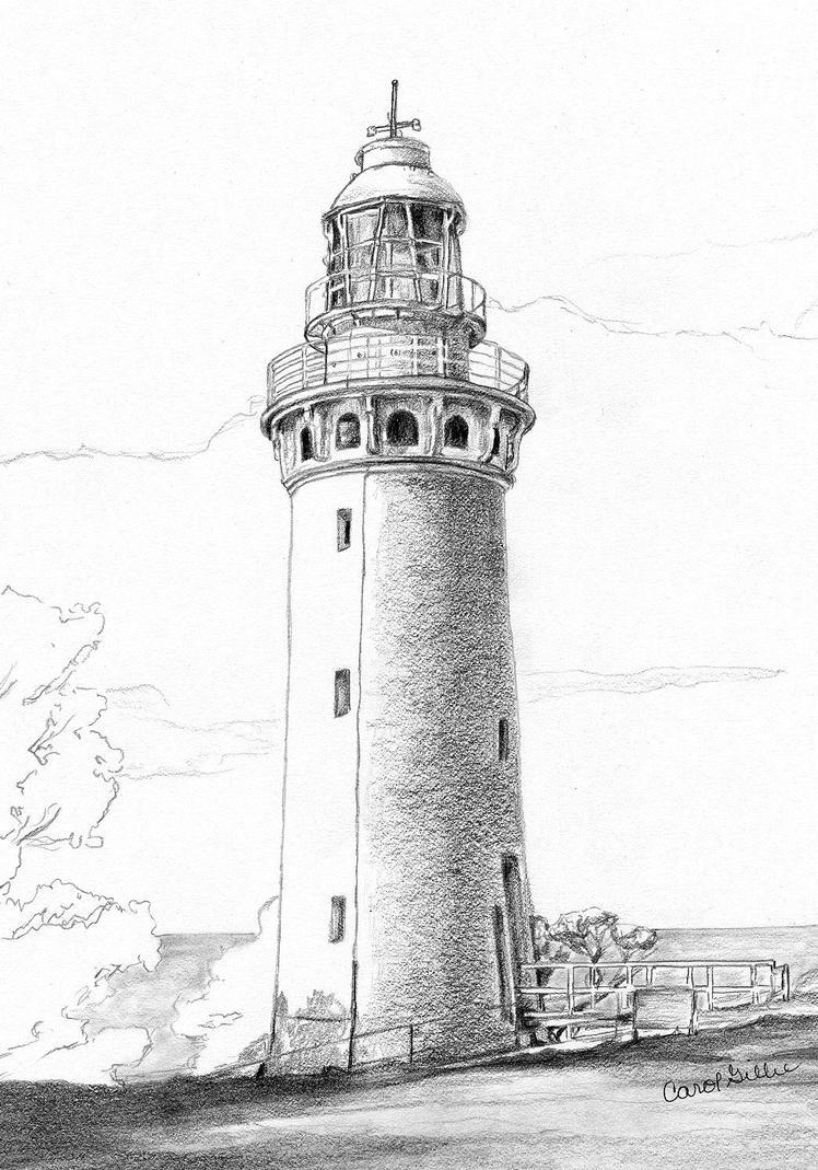 Lighthouse Line Art : Necip s lighthouse by joilieder on deviantart