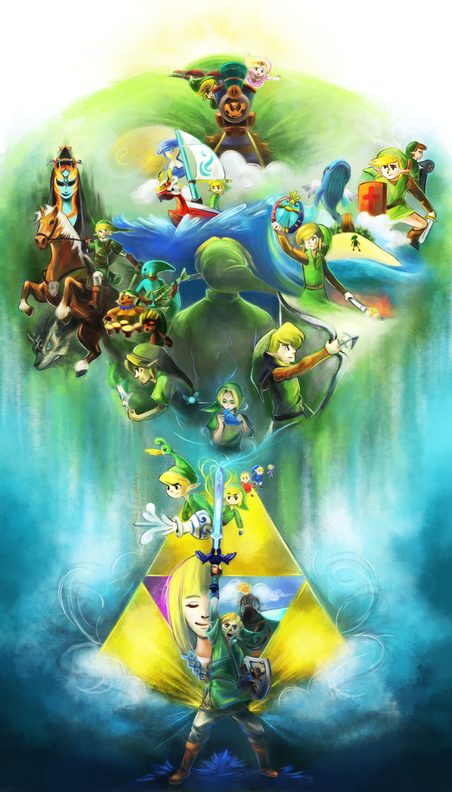 25 Years of The Legend of Zelda by WingJourneys