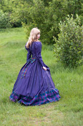Girl in Fantasy Dress by ann-emerald-stock