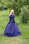 Girl in Fantasy Dress