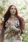 Fairy Girl With Very Long Hair